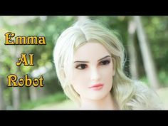 Meet Emma - World First Talking Artificial Intelligent Humanoid Female Robot By Bride Robot Tech. Ai Robot, Lip Sync, Face Skin, Toys For Girls, First World, Meet, Artificial Intelligence, Bride, Robotics