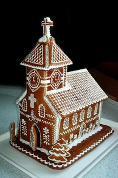 Gingerbread Church (Photo Inspiration)