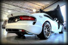 """""""Bright White"""" #SRT #Viper now on site and available for purchase from Derrick Dodge! Contact us for details or to schedule your test drive.  6211-104 Street 