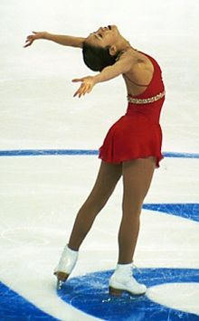 Michelle Kwan. Truly an inspiration and the most decorated figure skater in history.