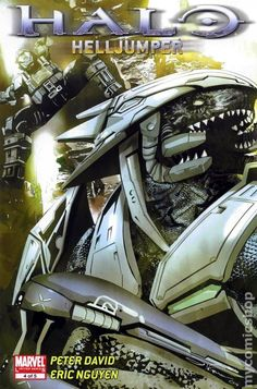 Halo Helljumper (2009) 4 Comic books cover