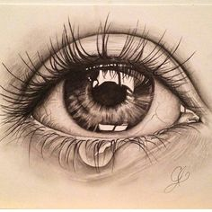 68 Ideas for eye sketch pencil crying Source by DollarhideGirl sketch Realistic Pencil Drawings, Sad Drawings, Cool Art Drawings, Pencil Art Drawings, Art Drawings Sketches, Sketches Of Eyes, Pencil Sketching, Eye Drawing Tutorials, Art Tutorials