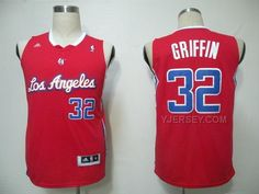 http://www.yjersey.com/nba-clippers-32-griffin-red-lac-jerseys.html Only$43.00 #NBA #CLIPPERS 32 GRIFFIN RED LAC JERSEYS Free Shipping!