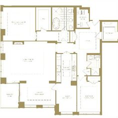 The Avenue - 155 St Clair Ave W, Toronto, ON Toronto Canada, Floor Plans, How To Plan, Home, Ad Home, Homes, Haus, Floor Plan Drawing, House Floor Plans