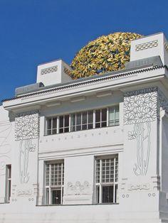Exhibition hall of the Secession Movement, 1898. Designed by t Joseph Maria Olbrich.