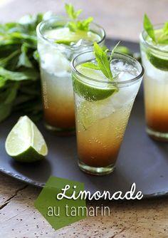 Limonade au tamarin - Tamarind lemonade