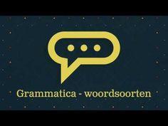 Grammatica - woordsoorten de basis - YouTube