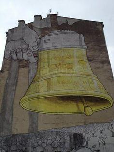 Graffitis y murales en Cracovia