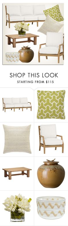 Outdoor Decor by kathykuohome on Polyvore featuring interior, interiors, interior design, home, home decor, interior decorating, outdoorliving and outdoorfurniture