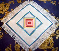 Napkin Orepey with sacral mandala. Cloth with от MiroshnikTatjana