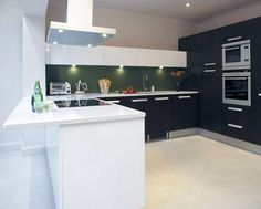 Black and white kitchen cabinets are the timeless kitchen design ever made. The modern black and white kitchen cabinets are designed to shows cold and elegant look.