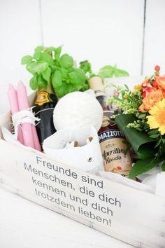Eine Kiste für die beste Freundin. (via Bloglovin.com )