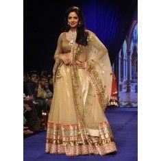 Bollywood Replica - Sridevi in a Bridal Lehenga at IIJW 2014 - 325 (IB-501)