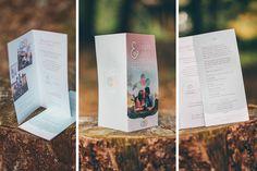 Mooie persoonlijke trouwkaart met foto, in de pasteltinten mintgroen en roze - door Juli Ontwerpburo