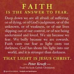 Catholic Quotes: Faith                                                                                                                                                                                 More