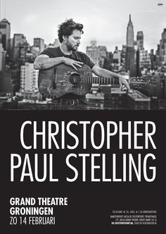 Christopher Paul Stelling is een echte troubadour die bijna altijd onderweg is. In zijn nummers vertelt hij verhalen die nog nooit eerder zijn verteld. Met zijn gitaar onder de arm heeft hij al reizend een reputatie opgebouwd als bijzondere en bevlogen performer.