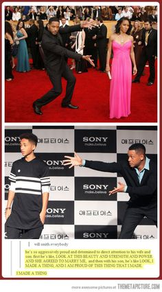 Will Smith, Ladies and Gentlemen… It's funny how he presents his wife and children but it's also beautiful how proud he is and how much he loves his family. New Hip Hop Beats Uploaded EVERY SINGLE DAY  http://www.kidDyno.com