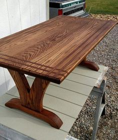 Oak coffee table #woodcraftprojects