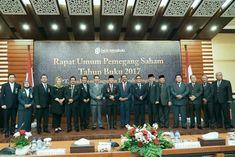 Foto bersama usai Rapat Umum Pemegang Saham Bank Bengkulu