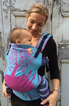 (Toddler Size) Half Wrap Conversion Tula - KoKaDi Erna in Wunderland