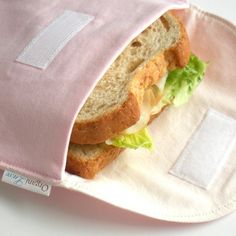 Eco Sandwich and Snack Bags, $18.00, via Etsy.