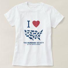 I Heart HSUS T-Shirt | The Humane Society