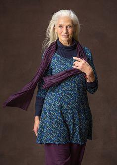 Tunika Blueberry fall 2016 Gudrun Sjoden cotton-elastan