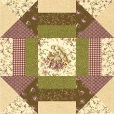 Free Cupids Cupboard Block Pattern