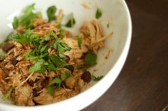 WLS Recipe for Tex Mex Chicken in the Crockpot