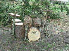 Rocking out Woodland style.