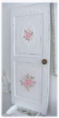Beautifully re-purposed door.