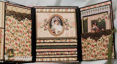 Graphic-45-Portrait-Of-A-Lady-Handmade-Scrapbook-Mini-Photo-Album-by-Terry     Graphic-45-Portrait-Of-A-Lady-Handmade-Scrapbook-