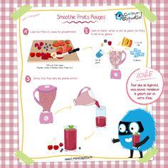 Recette : smoothie fruits rouge parfait pour une boisson fraîche sous la chaleur de l'été !