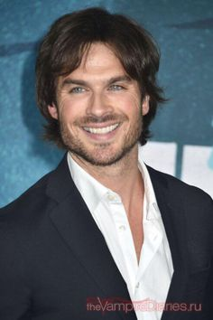 Beautiful Smile! Ian Somerhalder at 2015 CMT Music Awards Redcarpet  (06/10/15)