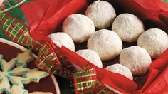 Bake these nutty Mexican cookies - a delicious dessert treat for a crowd.