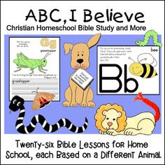 ABC I Believe Lessons for Home School