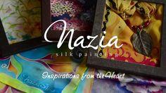 Nazia Silk Painting