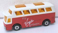 Matchbox Virgin Atlantic airport bus