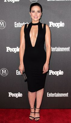 We can't stop talking about Sophia Bush's plunging LBD, Jaimie Alexander's cutouts and more star looks
