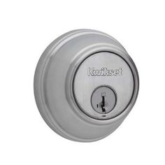 Kwikset 817-26DS Polished Chrome Keyed Entry Key Control UL Listed Single Cylinder Deadbolt with the SmartKey Feature FOR MASTER KEYING PROJECTS by Kwikset. $37.96. Kwikset 817 Keyed Entry Polished Chrome Key Control Deadbolt Single Cylinder Kwikset Key Control UL Listed Single Cylinder Deadbolt with the SmartKey Feature FOR MASTER KEYING PROJECTS Introducing Kwikset s Key Control Deadbolt featuring SmartKey re key technology a revolutionary cost and time saving alternative...