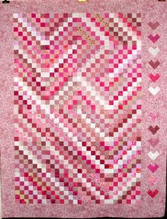 T-We Two, by Linda Miller Quilts.   Time for Valentines Day, this sets the mood perfectly.