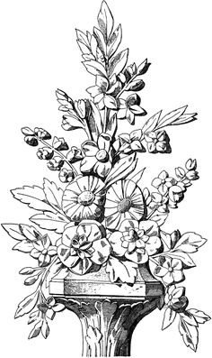 The Louis XVI Bouquet is a carving. Flower Ornaments, Grisaille, Louis Xvi, Natural Forms, Plant Decor, Vintage Images, Designs To Draw, Wood Carving, Hand Embroidery