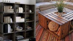 Kast van veilingkisten maak je makkelijk zelf. Gebruik oude houten kisten of fruitkisten voor jouw unieke kast. Laat je inspireren.