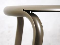 larameeee:  Split Chair by Daniel Lorch, 2010, powder coated...