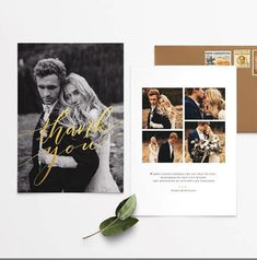 There are a lot of things to remember for your wedding -- one of the most essential being your post-wedding thank you card etiquette. Wedding Notes, Wedding Spot, Wedding Tags, Post Wedding, Wedding Albums, Wedding Ideas, Thanks Card Wedding, Wedding Stationary, Wedding Invitations