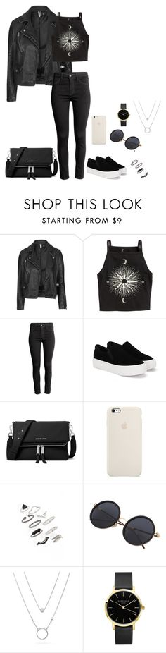 """Pokémon go though..."" by shay-the-turtle on Polyvore featuring Topshop, H&M and MICHAEL Michael Kors"