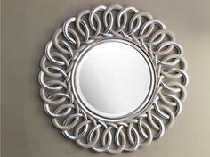 Classic style round bathroom mirror BOHEME by Devon
