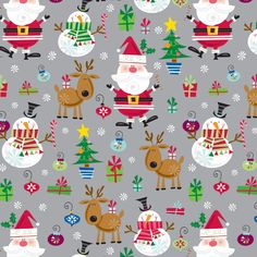In Style Santa Gift Wrap | The Container Store