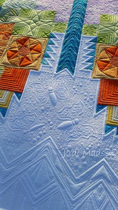 Tula Pink Butterfly Quilt.