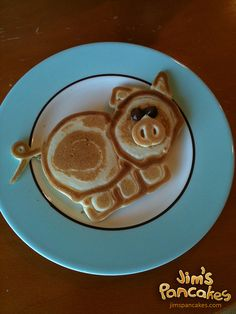 I wanted to show you how I have already lost 24 pounds from a new natural weight loss product and want others to benefit aswell. - This guy makes the coolest pancakes. I would love to try and make stuff like this! Cute Food, Good Food, Yummy Food, Pancake Art, Food Humor, C'est Bon, Creative Food, Food Art, Kids Meals